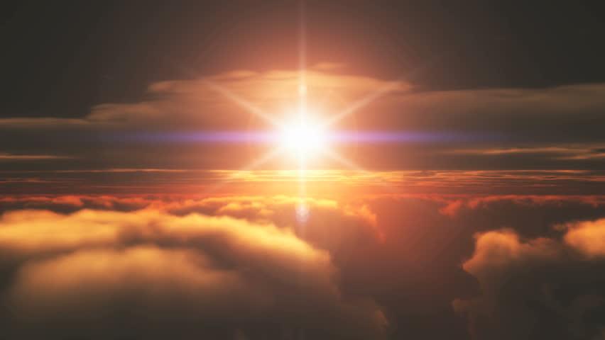 Fly sunset | Shutterstock HD Video #6637088