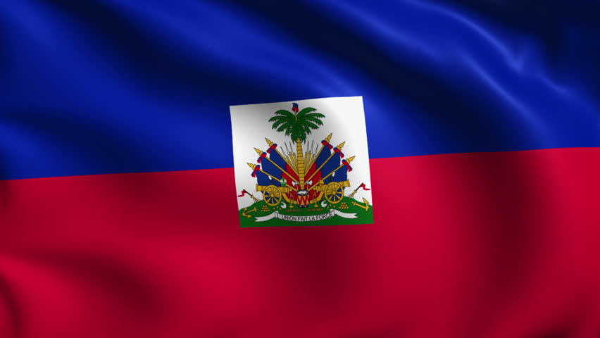 Haitian Flag Wallpaper Haiti Flag Stock Foota...