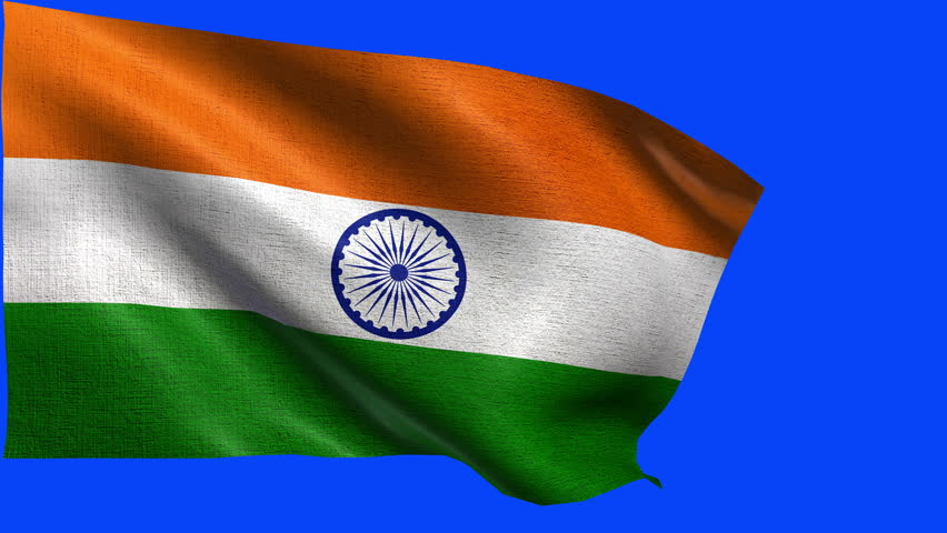 Indian Flag 4k Wallpaper: Flag Of India Background Seamless Loop Animation Stock