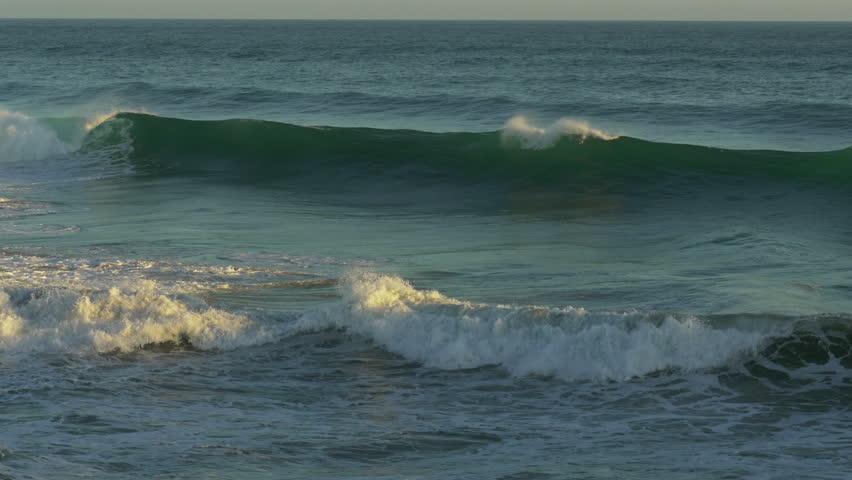 Ocean Waves Splash 4k Video