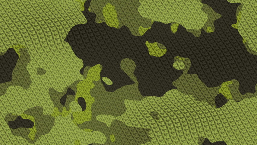 seamless green camouflage loop 1920x1080 - HD stock video clip
