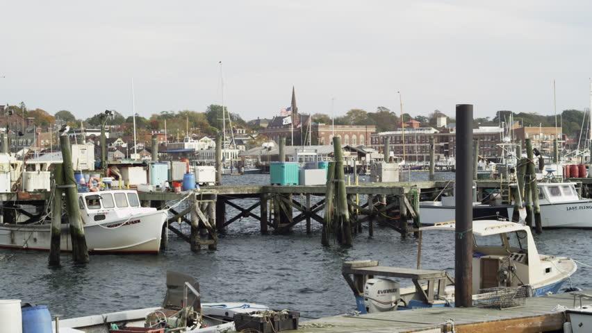 Newport rhode island 2014 fishing boats in the harbor for Fishing newport ri