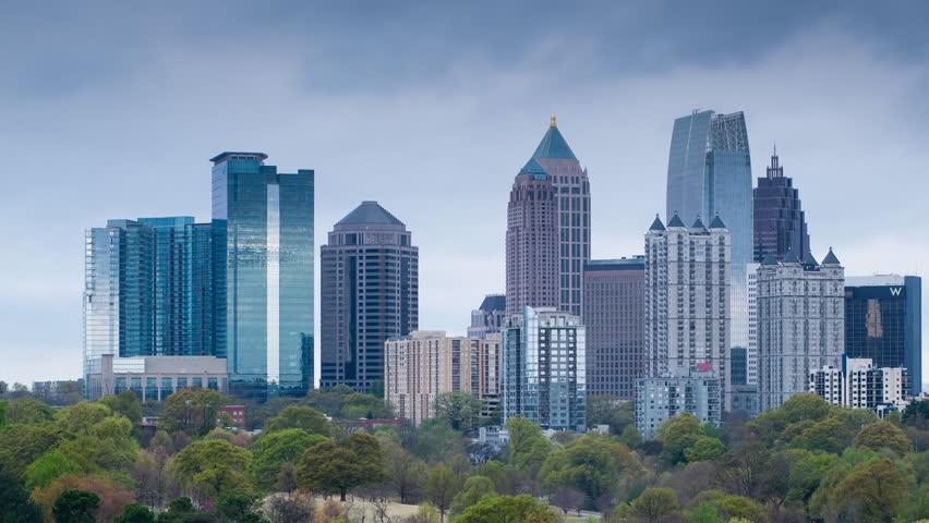 Atlanta (IL) United States  city photos : ... Atlanta, Georgia, United States Of America Stock Footage Video 8038894