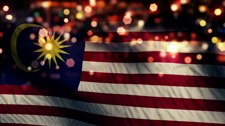 Malaysia flag stock footage video shutterstock for 3d wallpaper for home malaysia