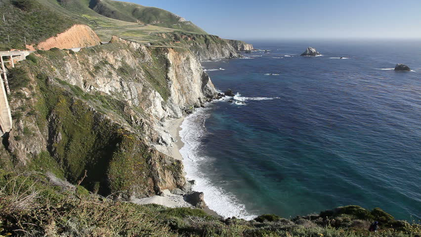 Big Sur Is A Sparsely Populated Region Of The Central ...
