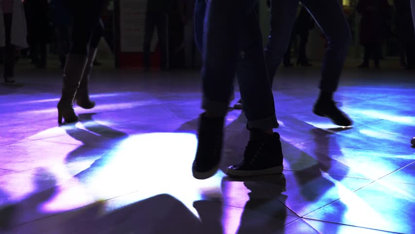 Dancing, Partying, Salsa Dancer - HD stock footage clip