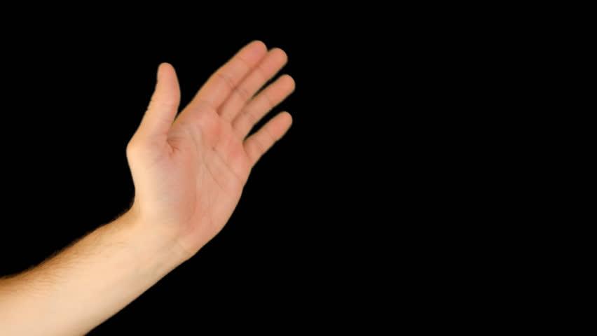 Image Gallery hand waving goodbye