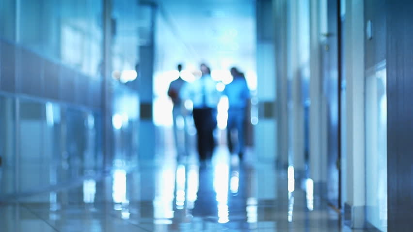 Business team in shallow depth of field. Slow motion business background. - HD stock video clip