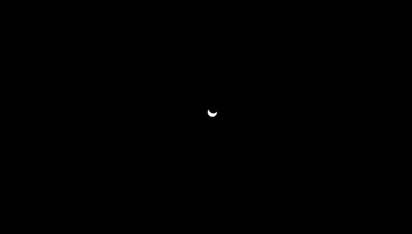 solar Eclipse - HD stock footage clip