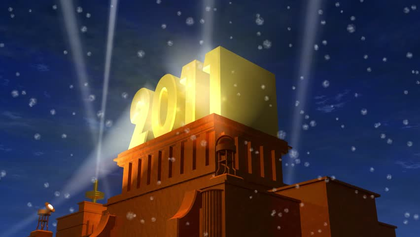 New Year 2011 celebration - HD stock video clip