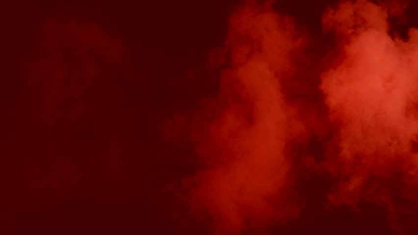 animated red toxic smoke filling up whole screen against