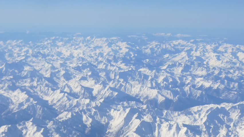 plane clouds and mountains - photo #2