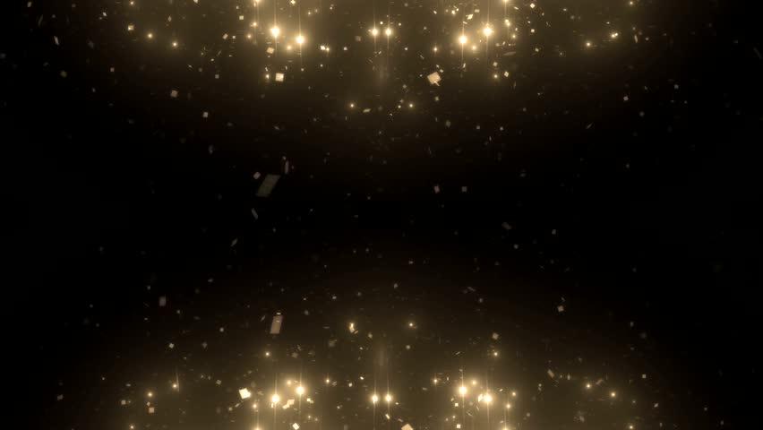 Fractal gold kaleidoscopic background. Background motion with fractal design. Disco spectrum lights concert spot bulb. More sets footage in my portfolio | Shutterstock HD Video #9412202