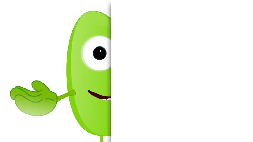 Monster Fred Placeholder funny advertising space | Shutterstock HD Video #9421706