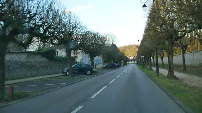 Track forward from car through city streets | Shutterstock HD Video #9512336