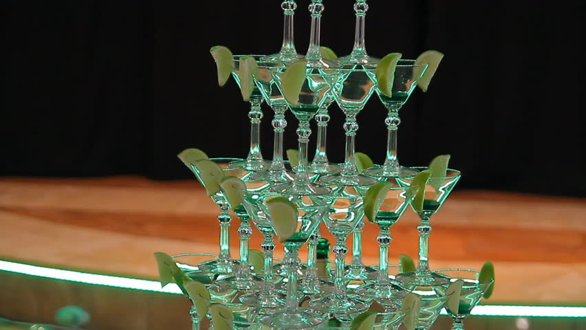 Pyramid holiday glasses | Shutterstock HD Video #9514154