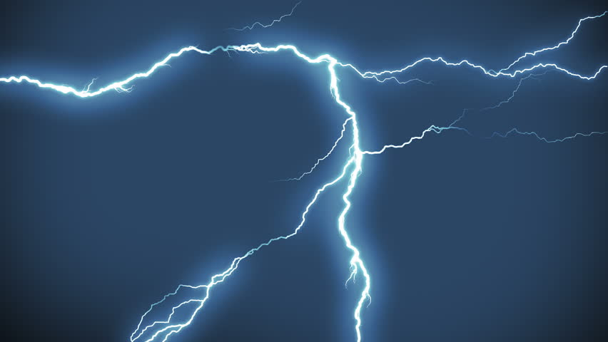 Realistic lightning strikes.Thunderstorm with flashing lightning. MORE COLOR OPTIONS IN MY PORTFOLIO. #9589457