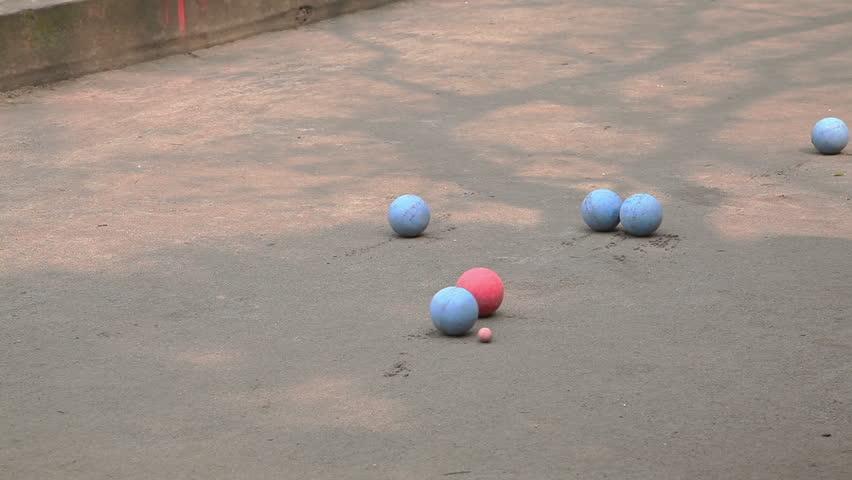 Ball game in Yangshuo