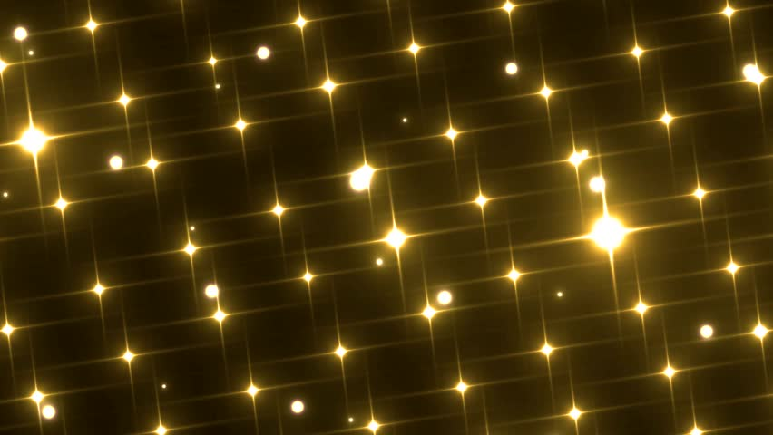 Stage Lights Gold. Floodlights disco background. Seamless loop.  | Shutterstock HD Video #9609140