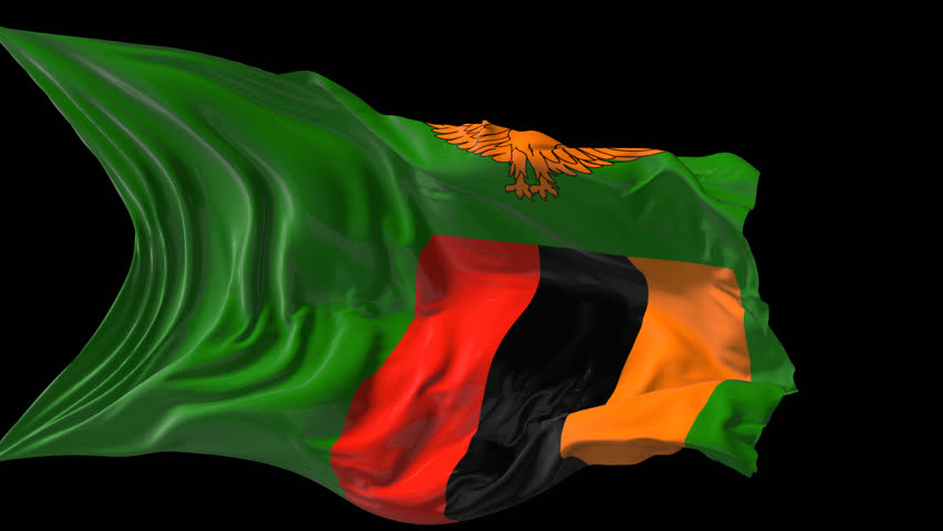 Zimbabwe Flag Stock Footage Video - Shutterstock