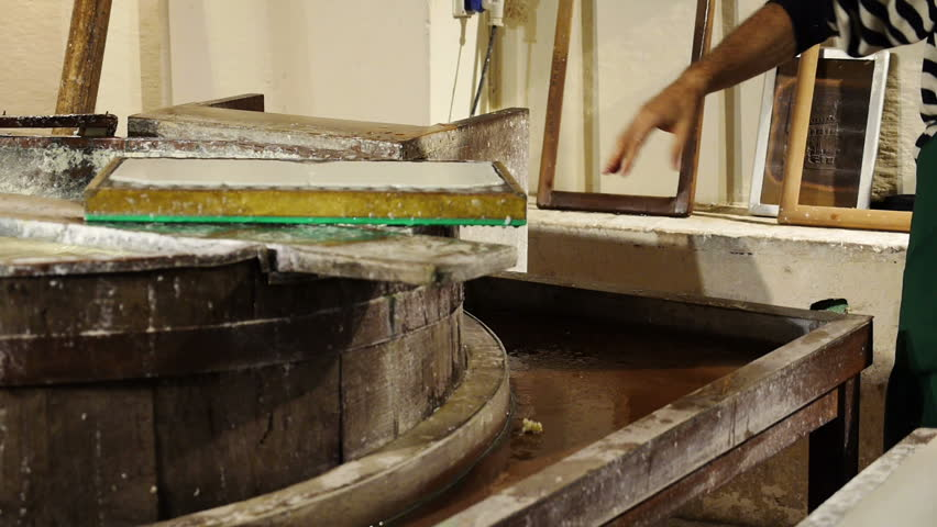 Hidden Georgia Tech: The Robert C. Williams Museum of ... |Old Papermaking Technology