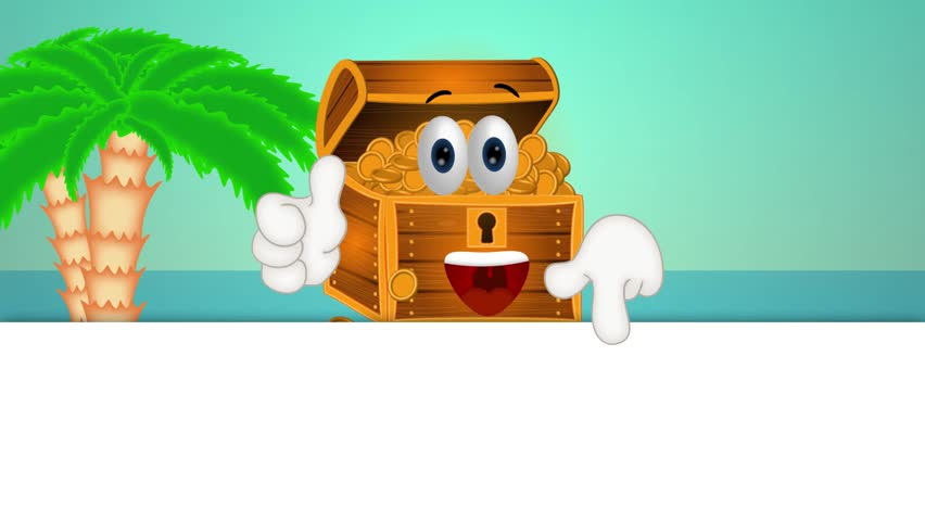 Treasure Toys Cartoon : Treasure chest footage page stock clips videos