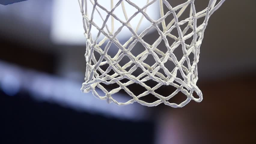 Close up of a basketball dunk, slowmotion | Shutterstock HD Video #9793262