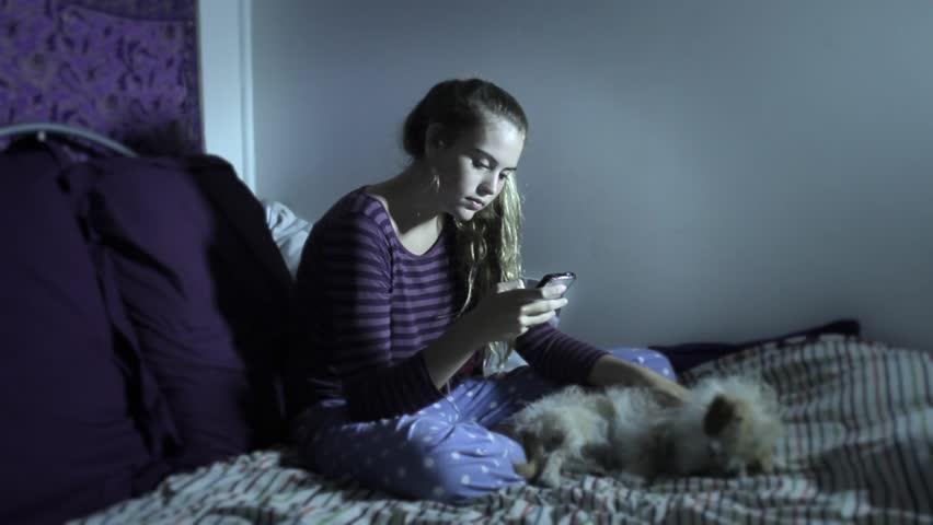 Anti social depressed teen